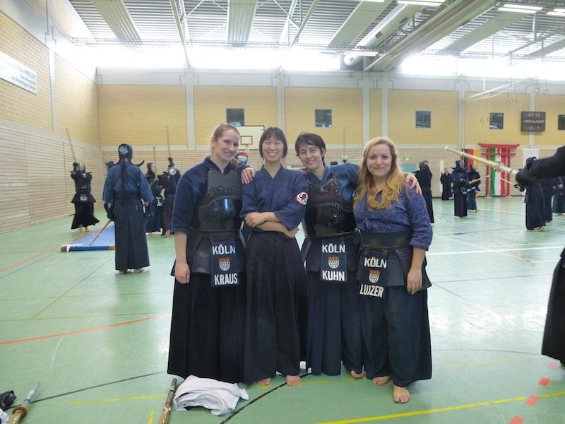 Siegerteam Kendo Dojo Köln
