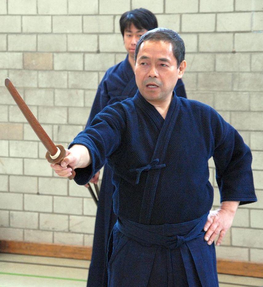 Kato-sensei erklärt Kodachi Kata